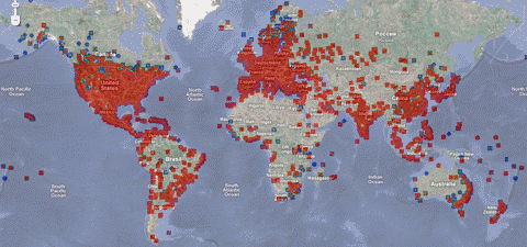 conficker-world-map